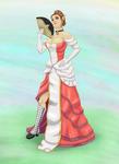 Melory Fairhair At The Royal Gala by bugatik