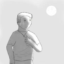 [Doodle] Midnight Wolf 1/4