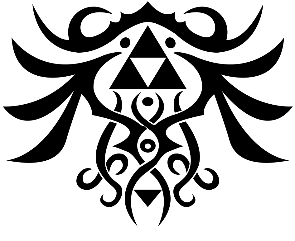 triforce tattoo design by umm tyler on deviantart. Black Bedroom Furniture Sets. Home Design Ideas