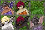 Alluvial Fairy Portrait