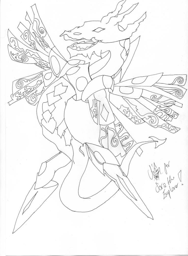 Majestic Star Dragon- Request by darksmoke101