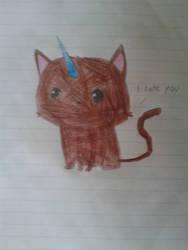 Kittycorn by LightningStorm16