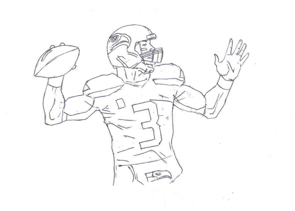 Russell Wilson Coloring Pages