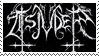 Tsjuder stamp by WickedWormwood
