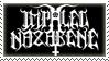 Impaled Nazarene stamp by WickedWormwood