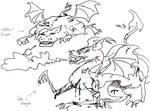 Kil's and Lea's Dragons