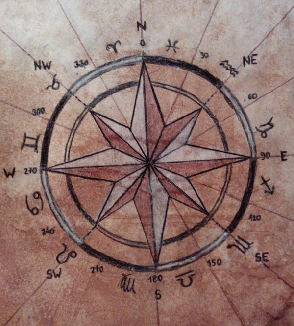 Compass Rose by stanleemacha