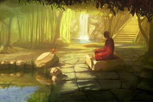Meditation by GorosArt