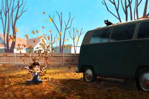 Autumn by GorosArt