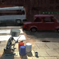 Street Drummer by GorosArt