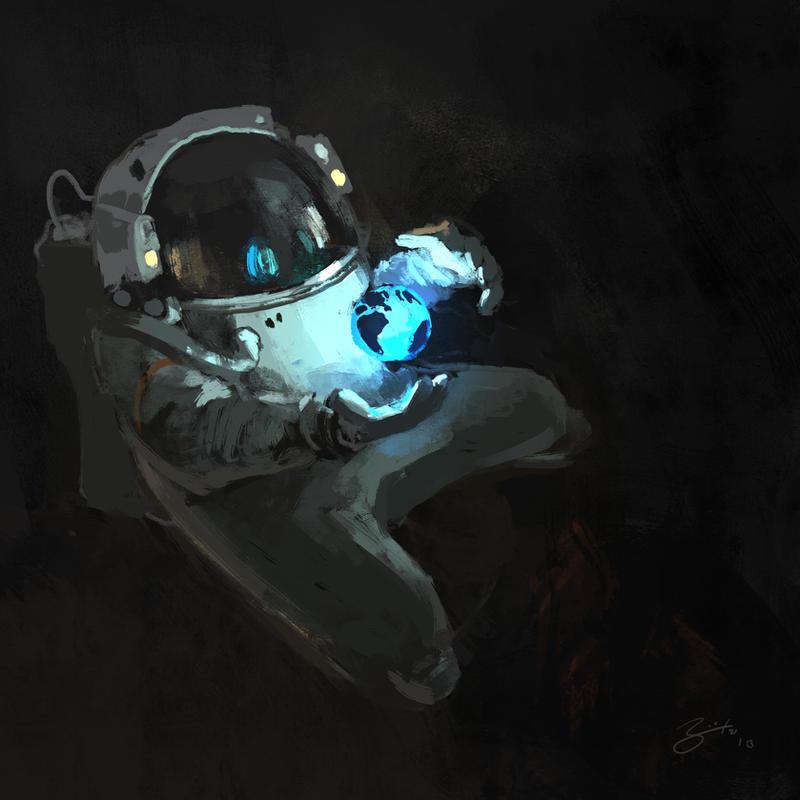 Astronaut Wizard by GorosArt