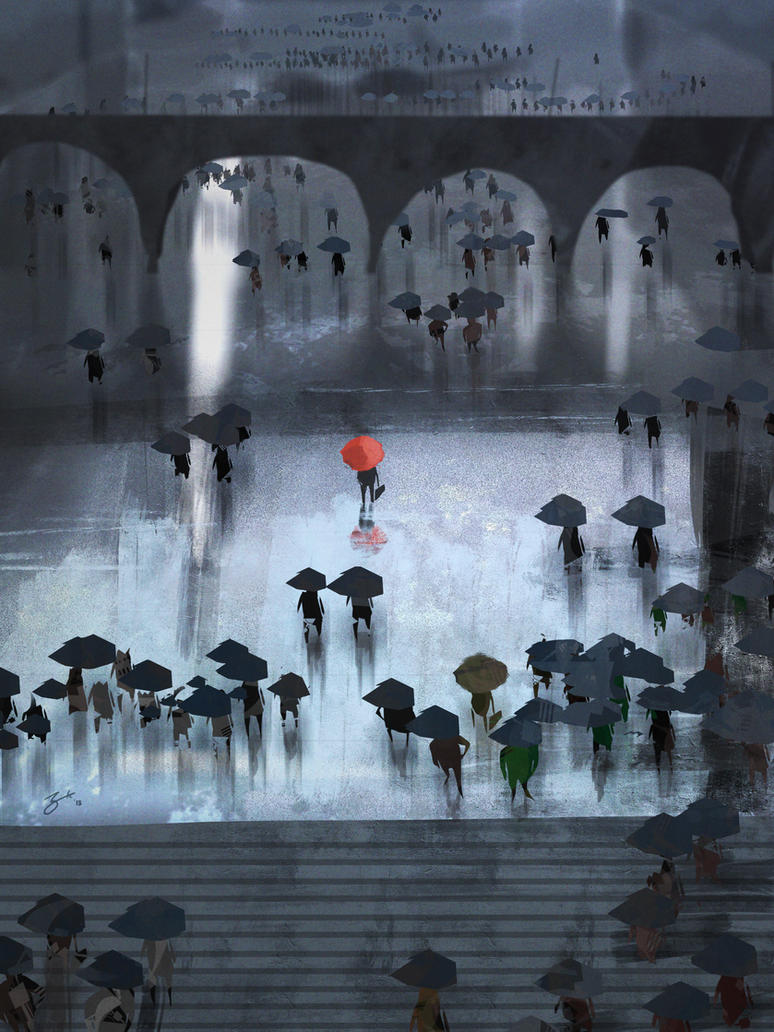 Umbrellas by GorosArt
