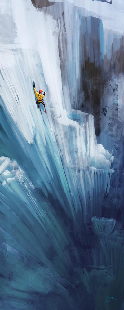 Ice Climber by GorosArt