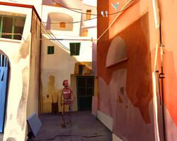 Walk In  Procida by GorosArt