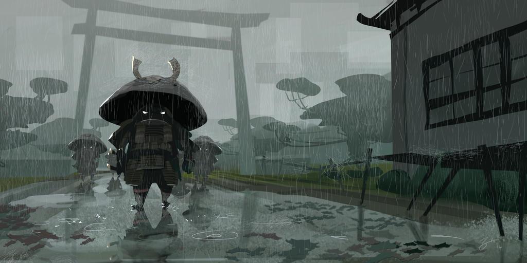 Mushroom Warrior by GorosArt