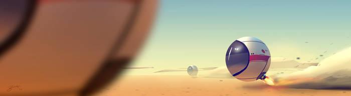 Sphere Transport by GorosArt