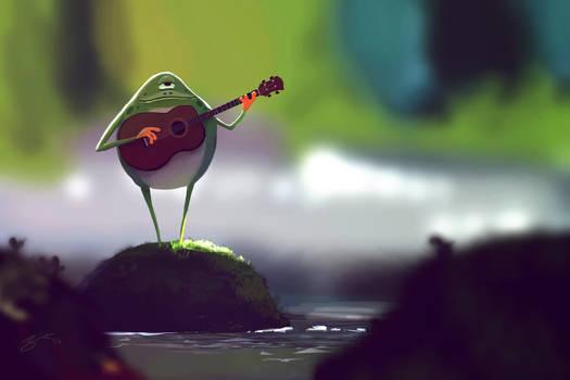 Cyclops Frog by GorosArt