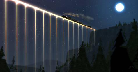 Bridge Of Light by GorosArt