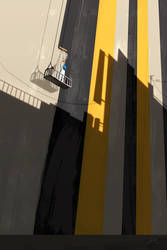 Grey Black Yellow by GorosArt