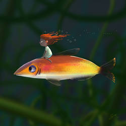 Fish Rider