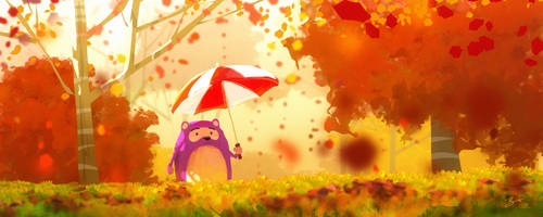 Fall Colors by GorosArt