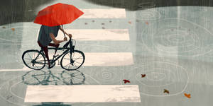 Bike Ride by GorosArt