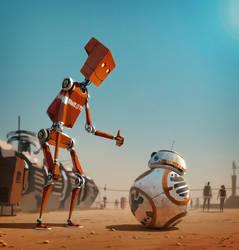 Meet BB-8 by GorosArt