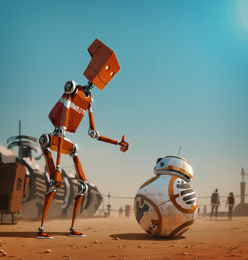 Meet BB-8 by GorosArt