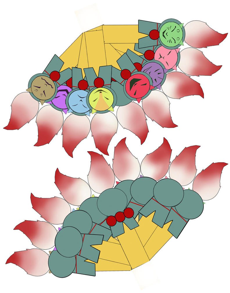 ninetails okami cubee tails by scarykurt
