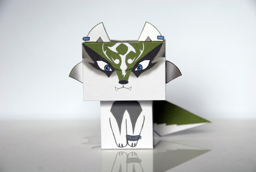 Wolf Link chibi Cubee -Zelda Twilight Princess by scarykurt