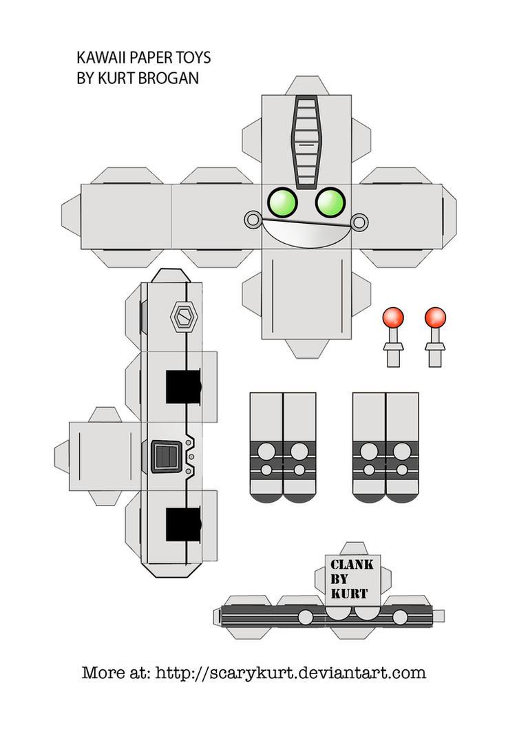 Clank cubeecraft by scarykurt