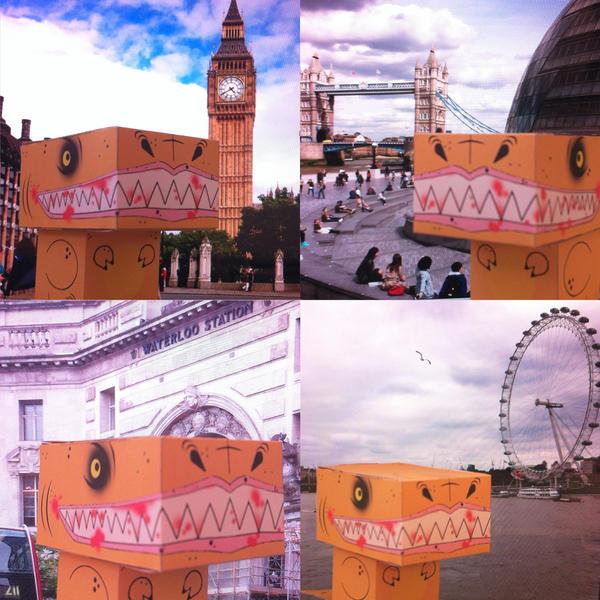 Jurassic World London Tour by scarykurt