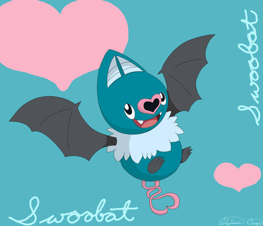 Swoobat by WingedDragonLover on DeviantArt