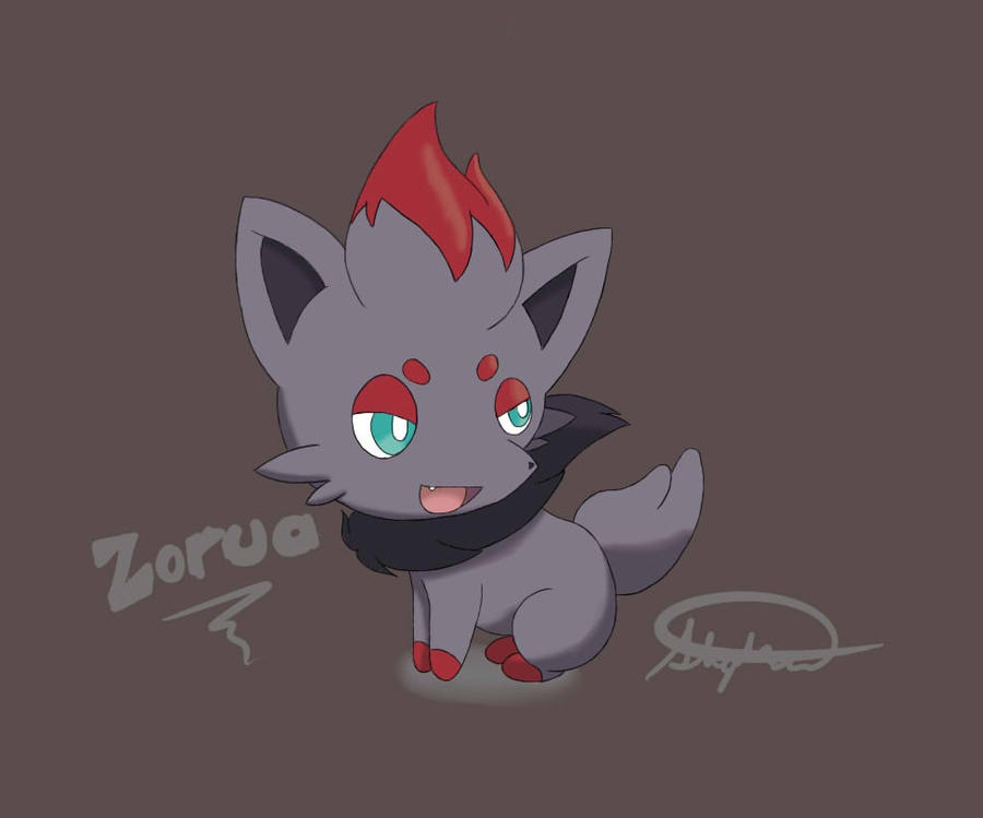 dragon type zorua and - photo #35