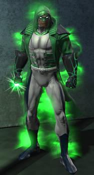 Green Lantern New 52 Renegade (DC Universe Online)
