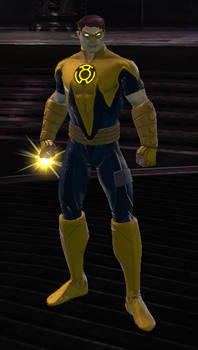 Sinestro Corps Hal Jordan (DC Universe Online)