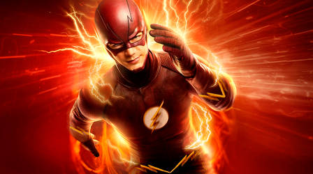 The Flash CW Edit (Made suit more comic accurate)