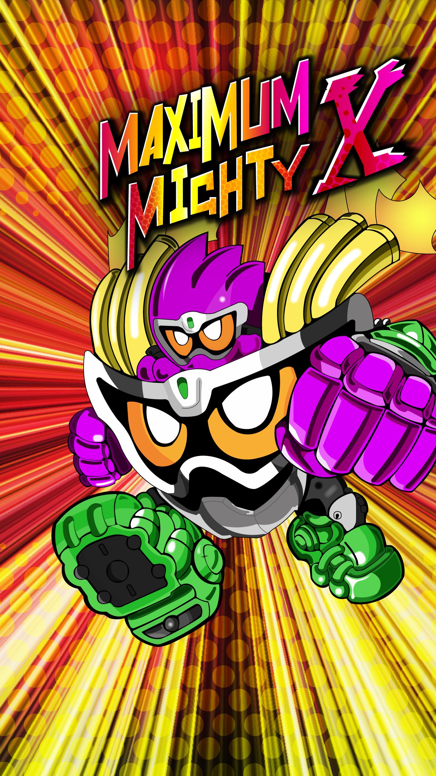 Maximum Mighty X Gashat Art by VexylGraphics