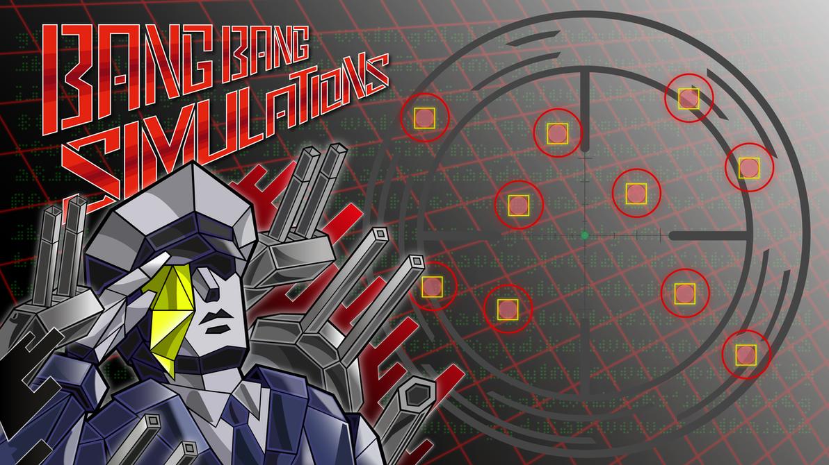 Bang Bang Simulations Wallpaper by VexylGraphics