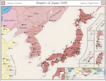 Map of the Empire of Japan in 'Russia Royale' TL