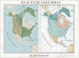 Our Fair Columbia, 1916