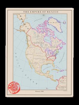 The Empire of Mexico, 1848
