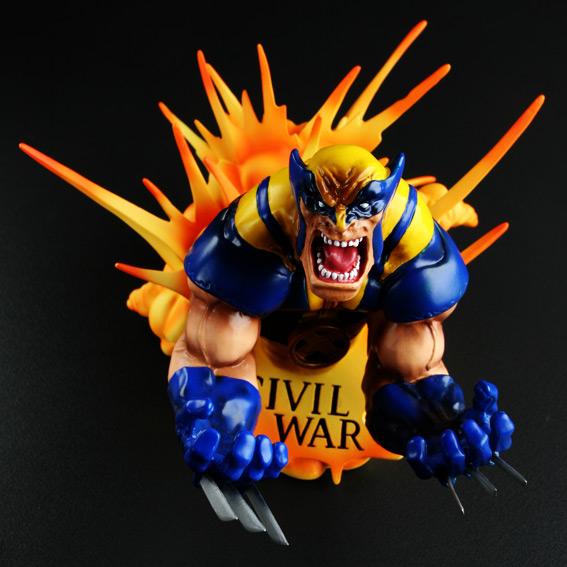 Civil War Wolverine by Challice