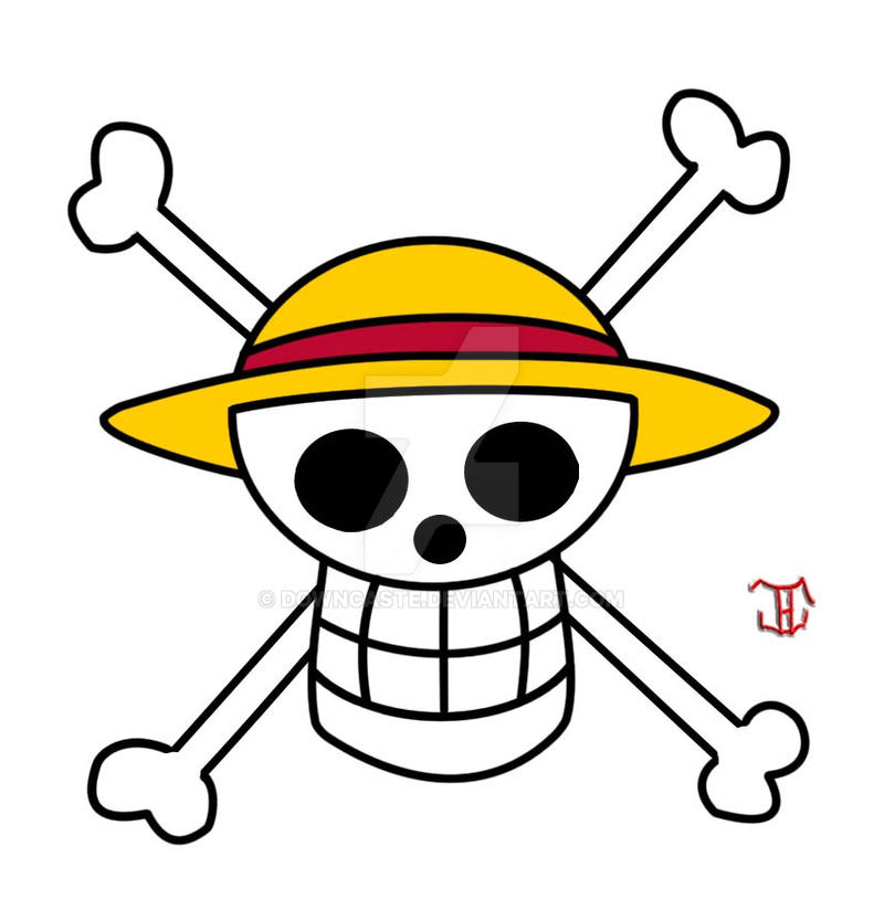 Straw Hat Pirate Flag By Downcaste On Deviantart