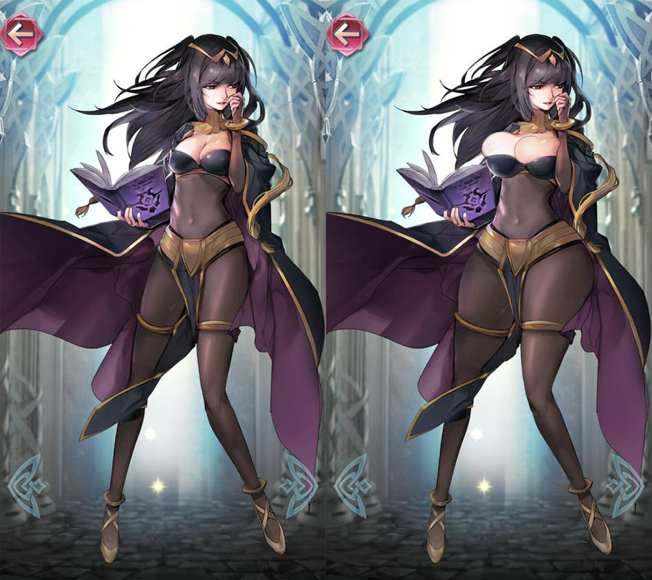 Thighja (Fire Emblem Roulette Morph) by Morphy-McMorpherson
