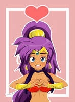 FA: Shantae Heart by StaleMeat
