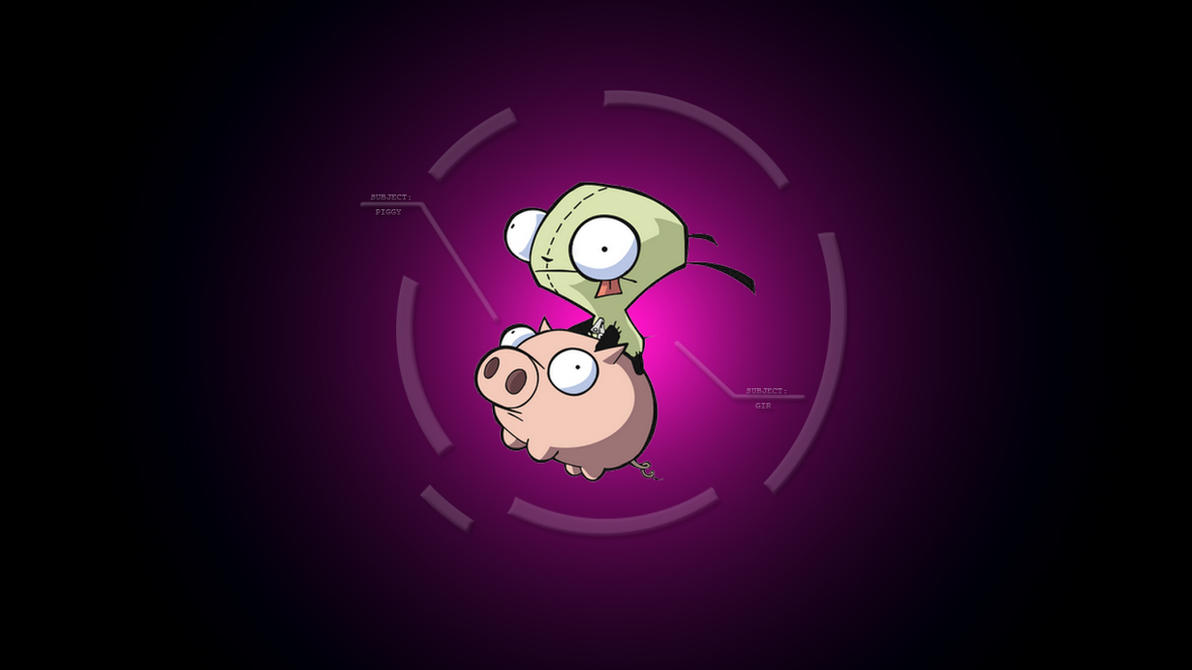Invader Zim Gir Wallpaper by Gran5torino72