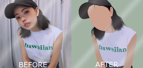 Before and After Pic Vector by smoke-weed-thehippie