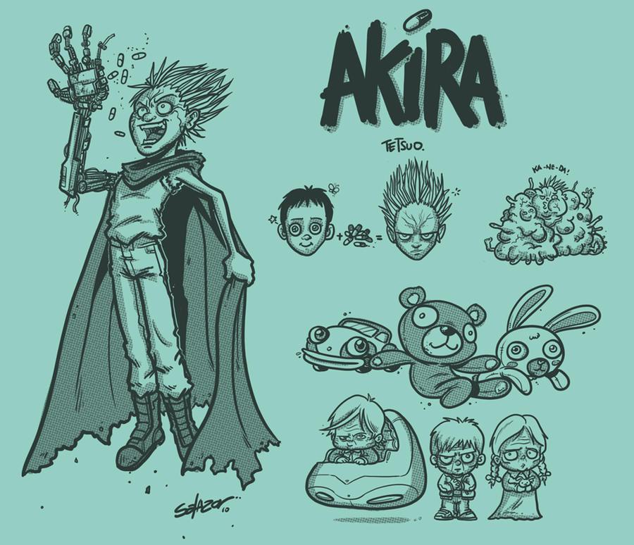 Akira Tetsuo by petipoa