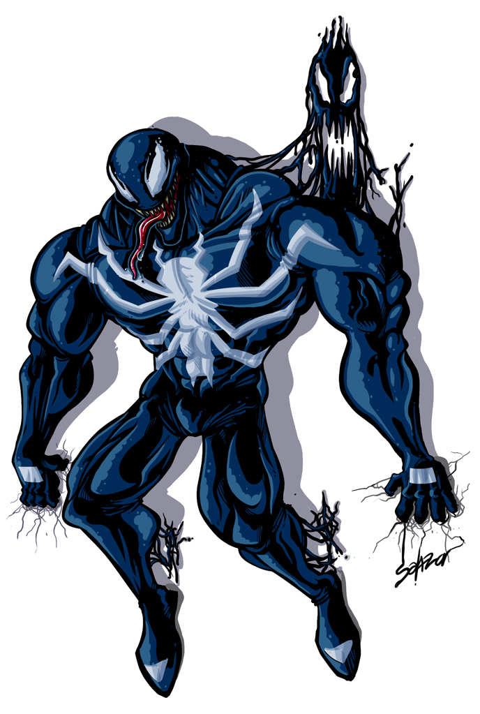 Venom spiderman art - photo#8